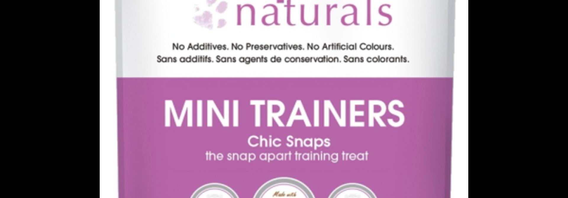 Crumps' Dog Mini Trainiers Chic Snaps 4.2oz