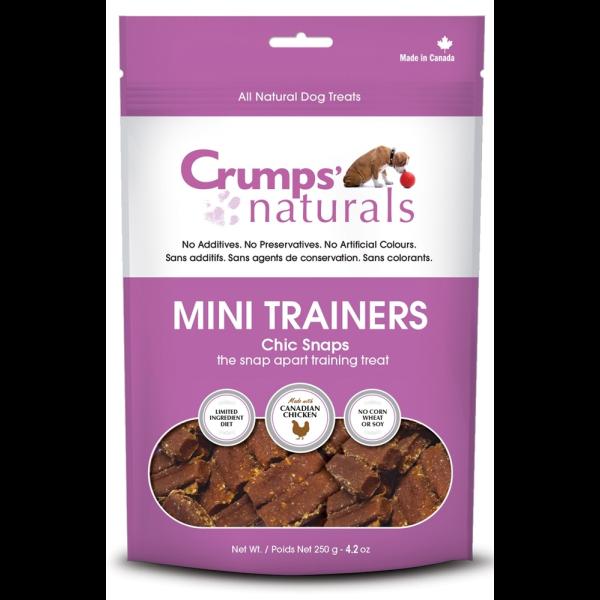 Crumps' Dog Mini Trainiers Chic Snaps 4.2oz-1