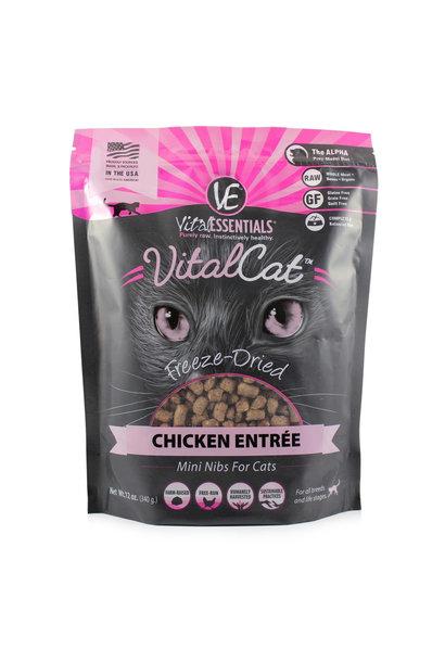 Cat GF Freeze Dried Food Chicken Mini Nibs Cat - 12 oz