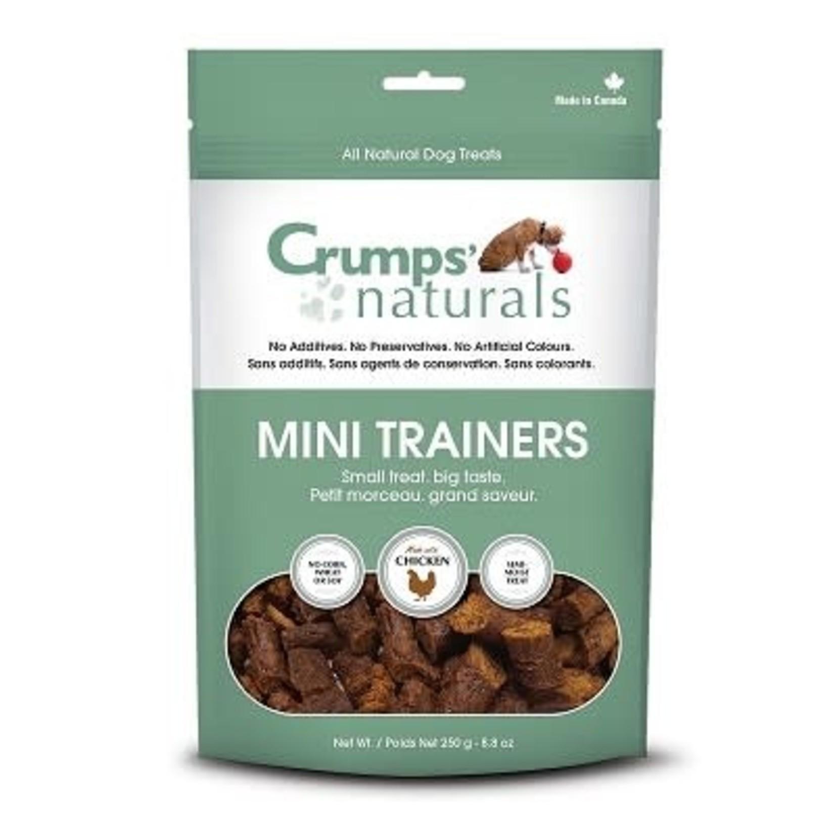 Crumps Mini Trainers-Dog-Semi moist Chicken 4.2oz