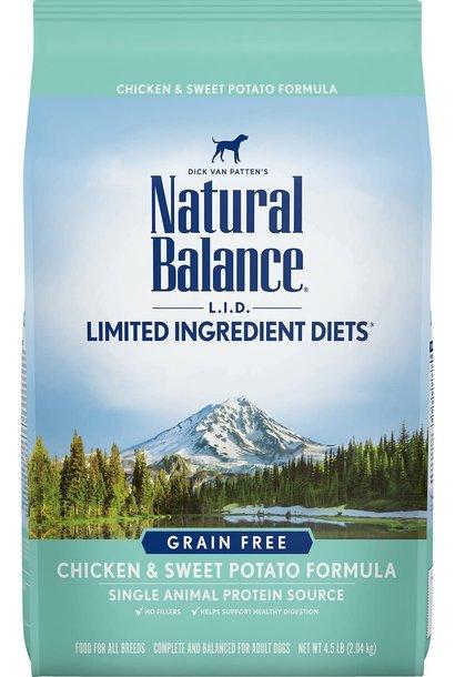 Natural Balance - Chicken & Sweet Potato