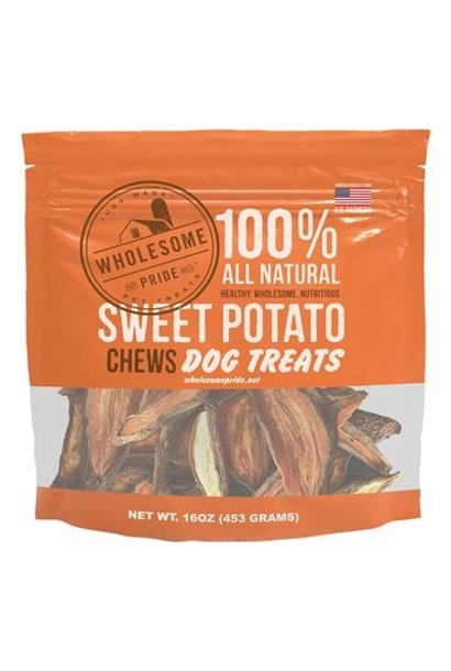 Sweet Potato Chews 16OZ