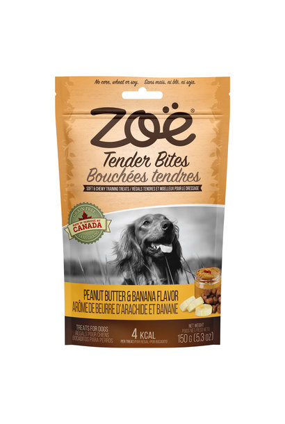 Zoe Tender Bites, 5.3 oz, Peanut Butter/Banana