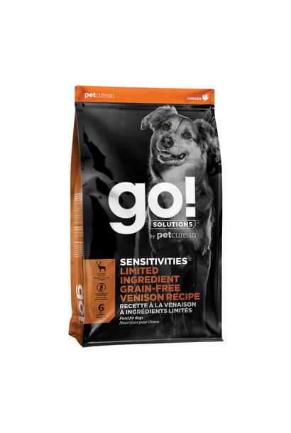 GO! Sensitivities LID  GF Venison 22LB