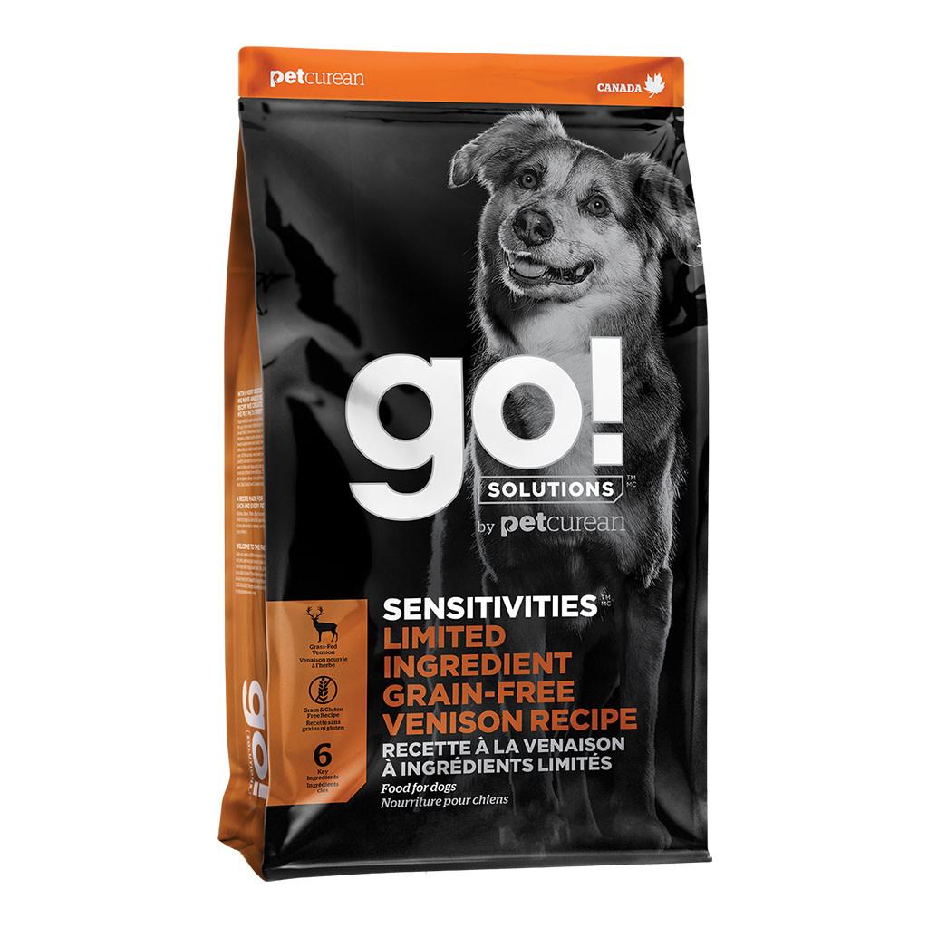 GO! Sensitivities LID  GF Venison 22LB-1