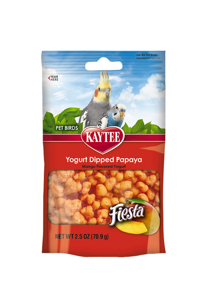Fiesta Mango Yogurt Dipped Papaya Treats 2.5OZ
