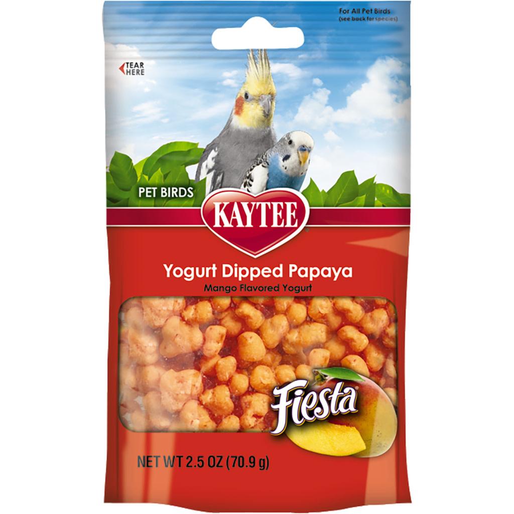 Fiesta Mango Yogurt Dipped Papaya Treats 2.5OZ-1
