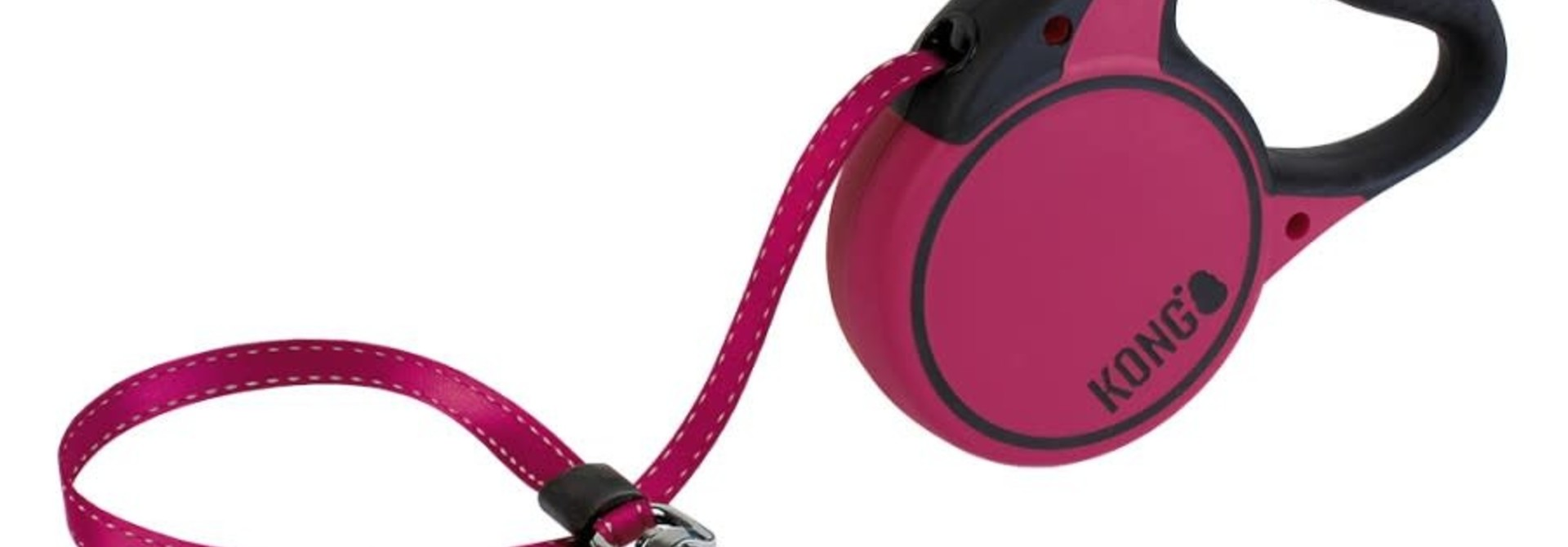 Terrain Retractable Leash- Medium - Fuchsia