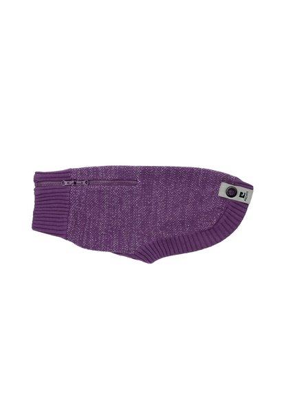 Polaris Sweater L Plum Purple