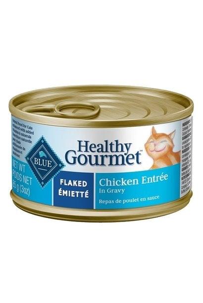 Healthy Gourmet Cat Flaked Chicken 5.5oz