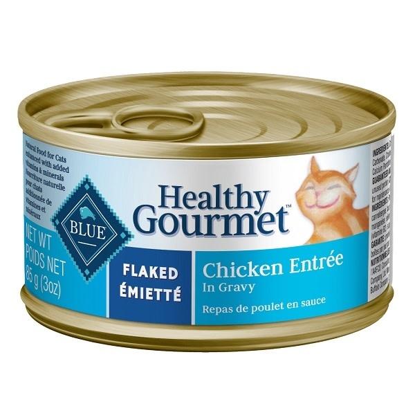 Healthy Gourmet Cat Flaked Chicken 5.5oz-1