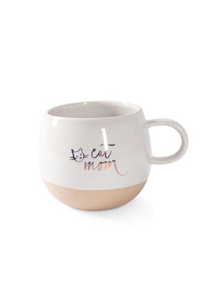 Organic Mug: Cat Mom