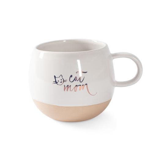 Organic Mug: Cat Mom-1