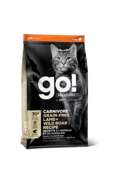 GO! Carnivore Lamb & Wild Boar 3LB  Cat