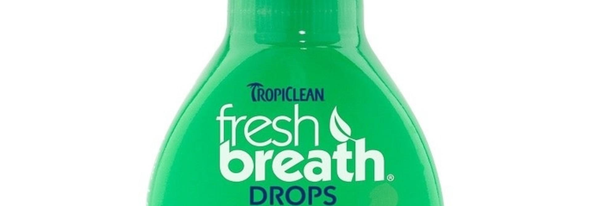 Fresh Breath Drops - Cat 2.2oz