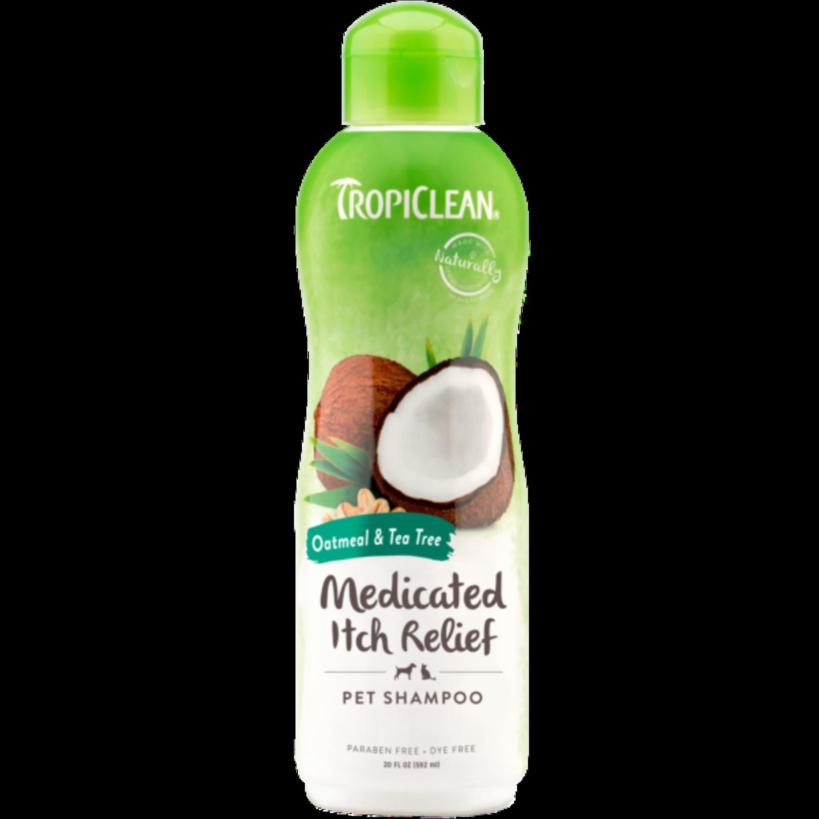 Tropiclean Oatmeal Medicated Shampoo 20 oz