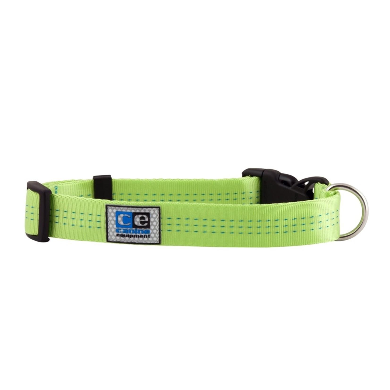 Canine Equipment Utility Collar - TEC Lime