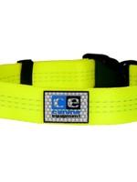 Canine Equipment Utility Collar - TEC Neon Yellow
