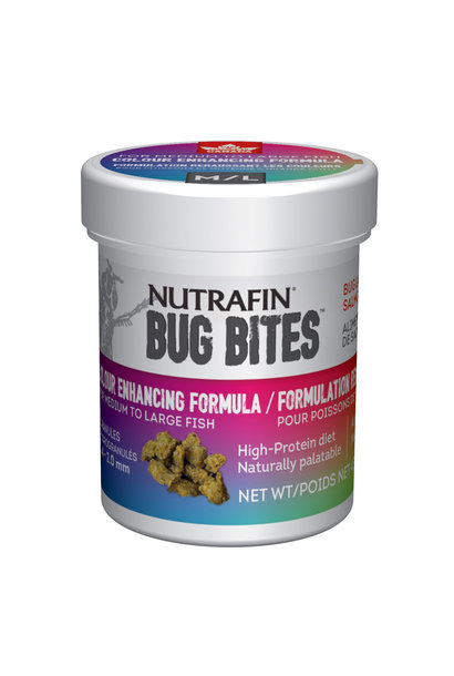 BugBites Colour Enhancing Med-Lrg 45g