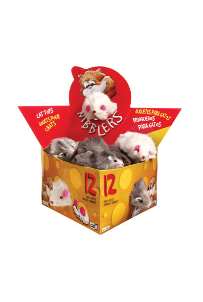 Deluxe Fur Mouse, Large - Single