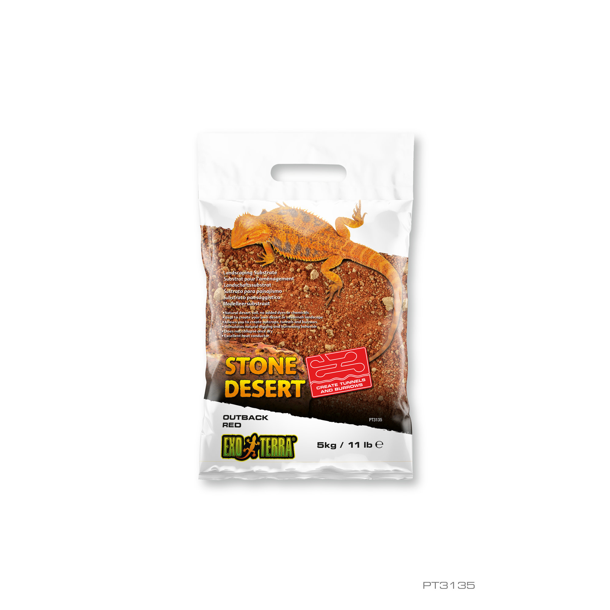 Desert Substrate, Outback Red 5kg-2