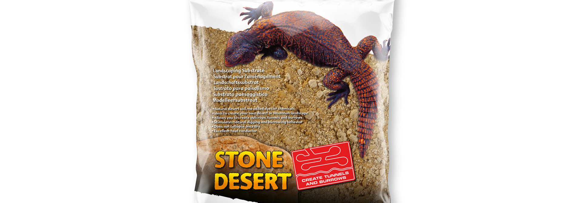Desrt Stubstrate, Sonoran Ocher 5kg