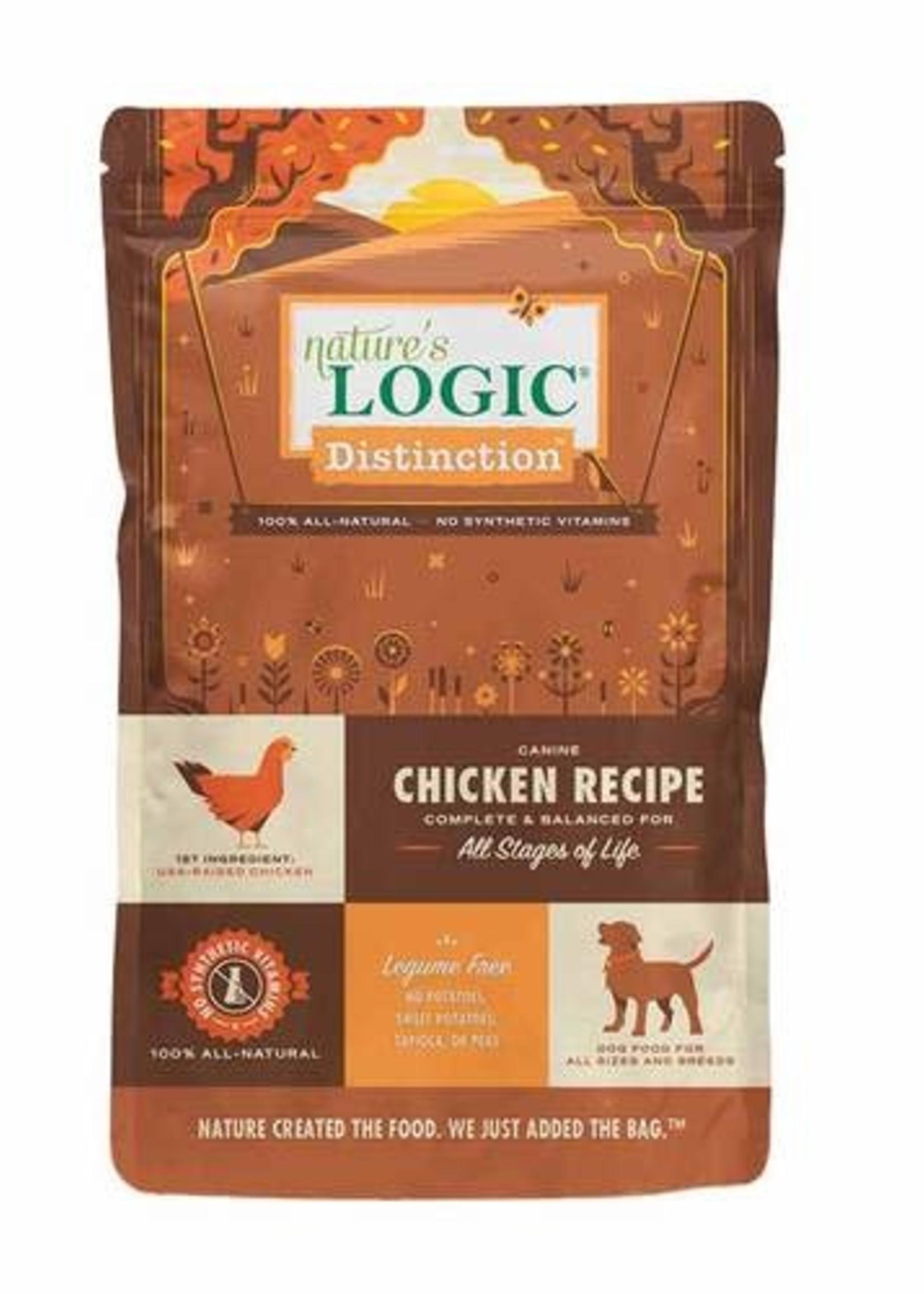 Nature's Logic Distinction Dog Food - Chicken - 24lb
