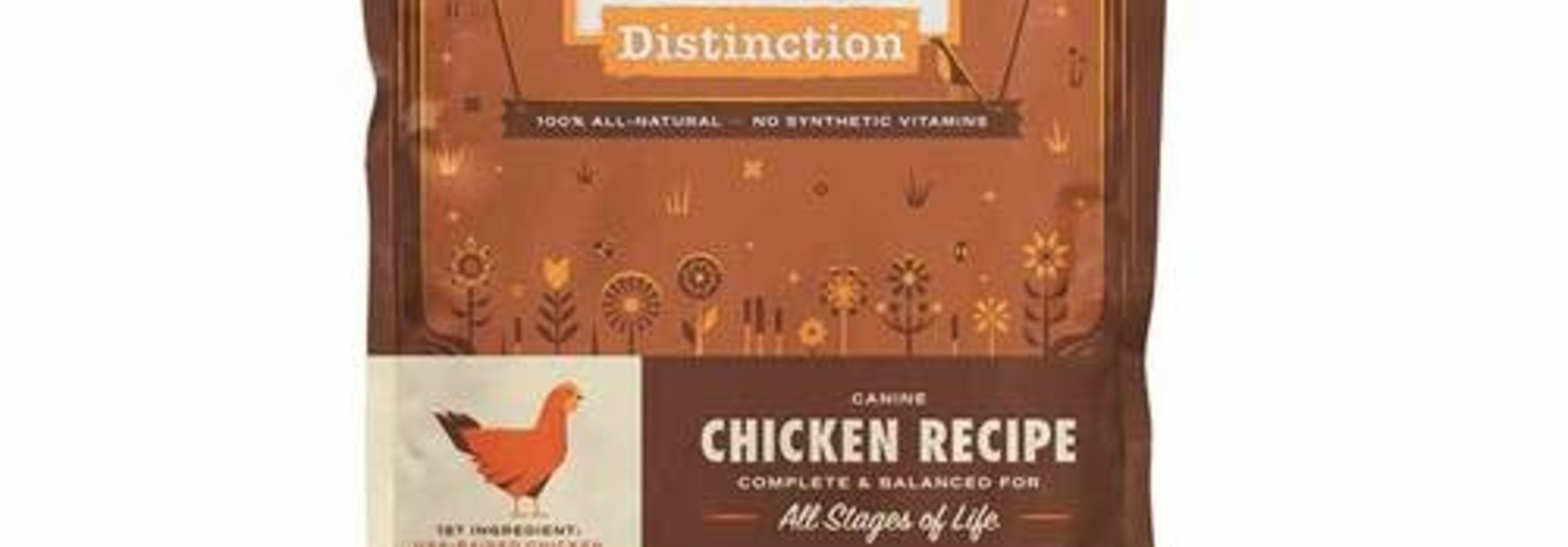 Distinction Dog Food - Chicken - 24lb
