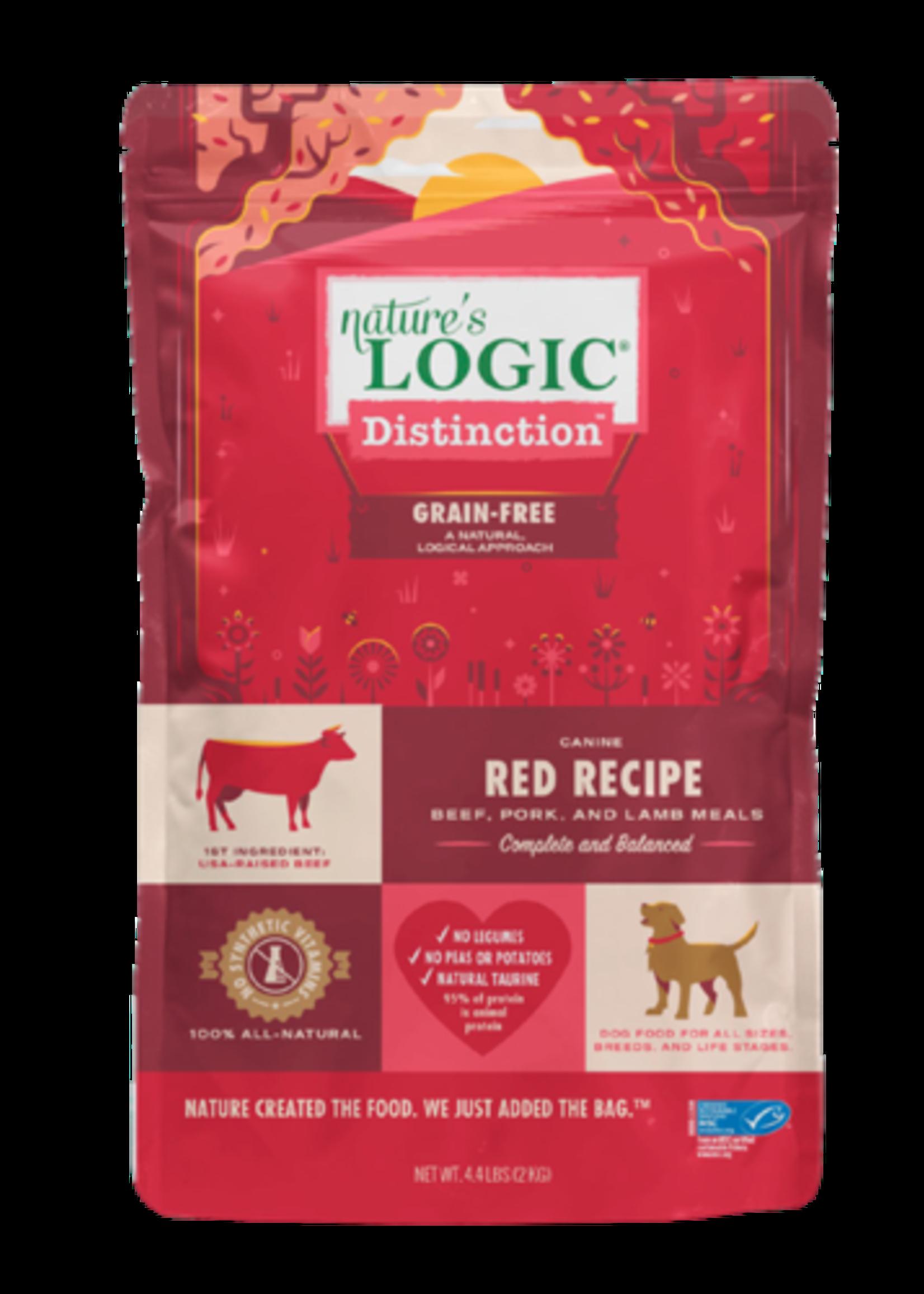 Nature's Logic Distinction Dog Food - Red - 24lb