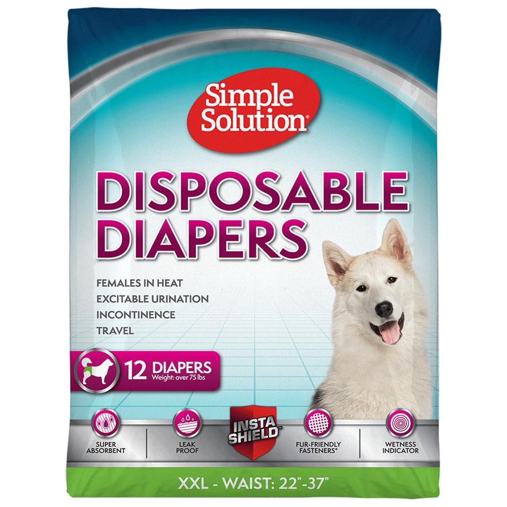 Disposable Female Diapers XXLarge 12PK-1