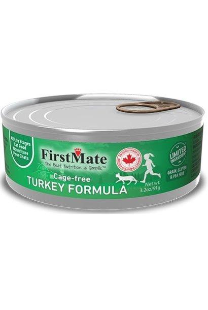 Cage Free Turkey Cat Food 3.2oz