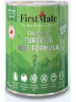 First Mate Cage Free Turkey & Rice Dog 12.2oz