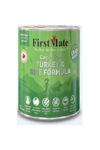Cage Free Turkey & Rice Dog 12.2oz