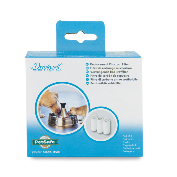 Drinkwell Replacement Charcoal Filter 3pk-1