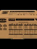 Naturawls Bulk Variety Pack 24lb-Beef,Duck,Lamb