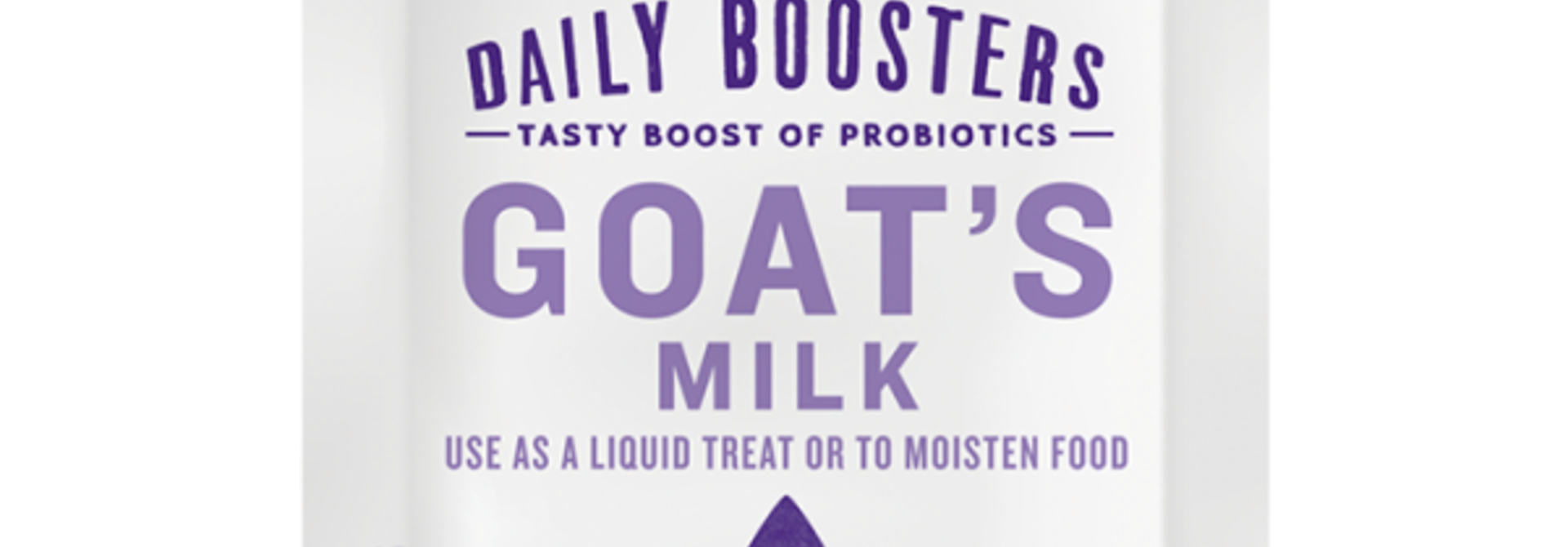 Daily Boosters Goat's Milk Single Serve Pack 12/5 g