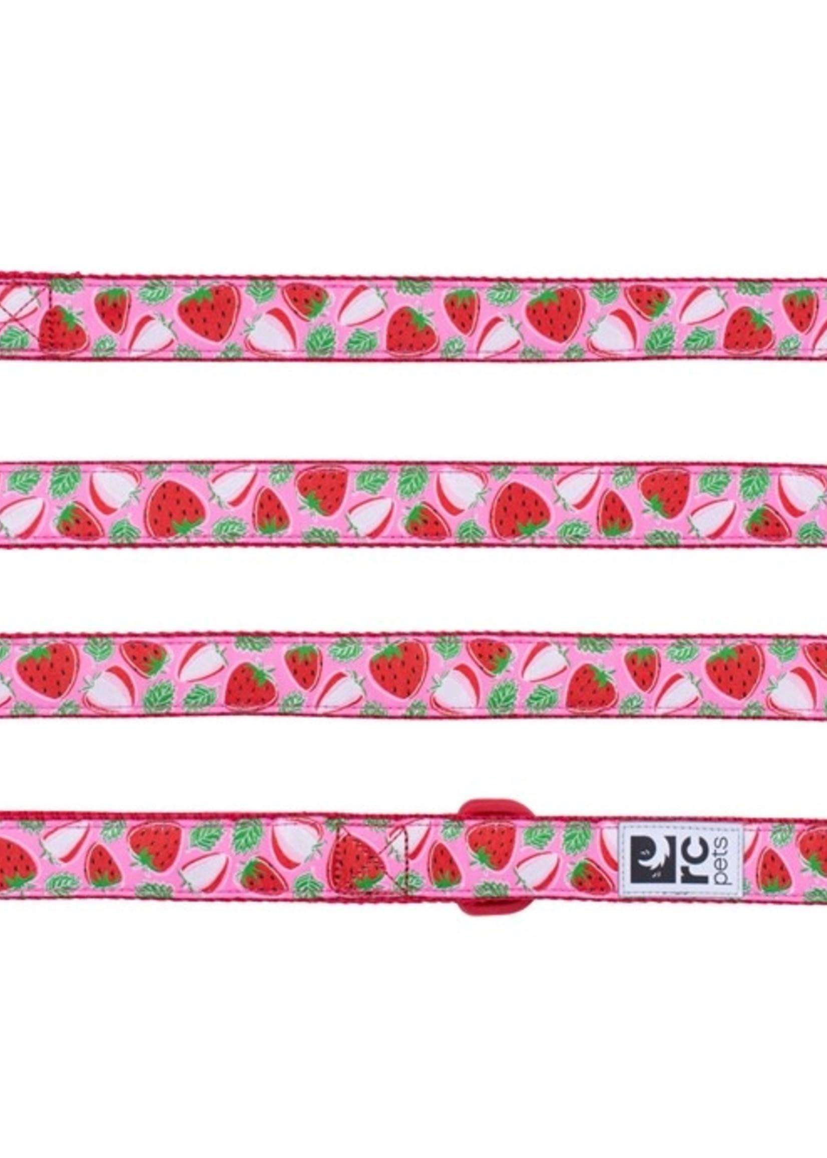 RC Pets Leash 1x6 Strawberries
