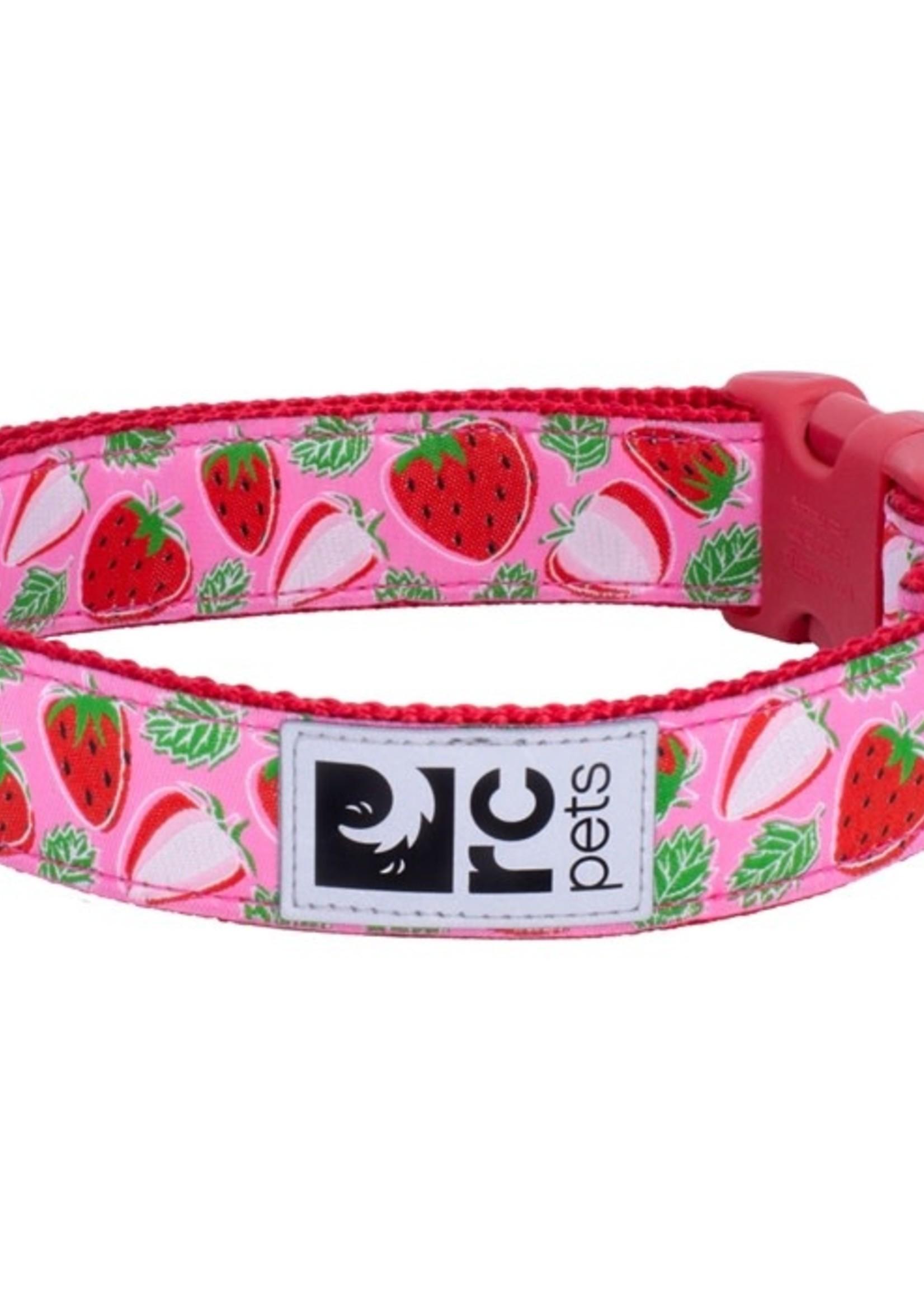 RC Pets Clip Collar - Strawberries