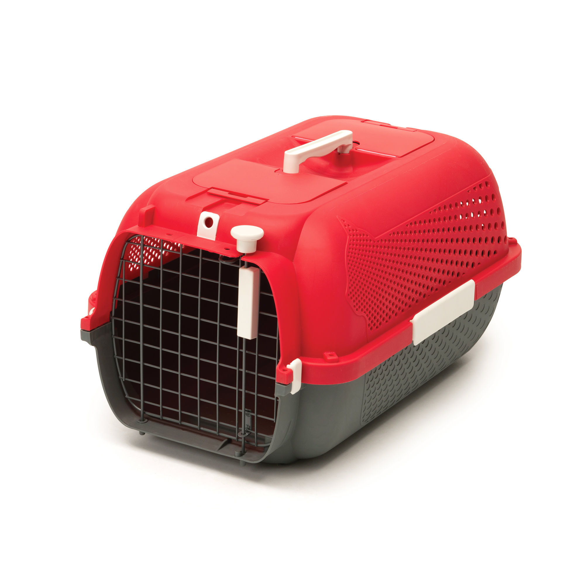 Voyageur Cat Carrier- Small- Cherry Red-1