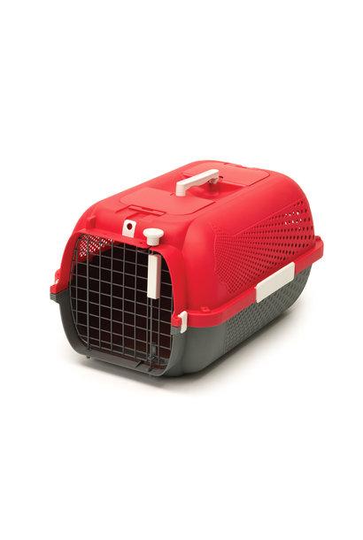 Voyageur Cat Carrier- Medium- Cherry Red