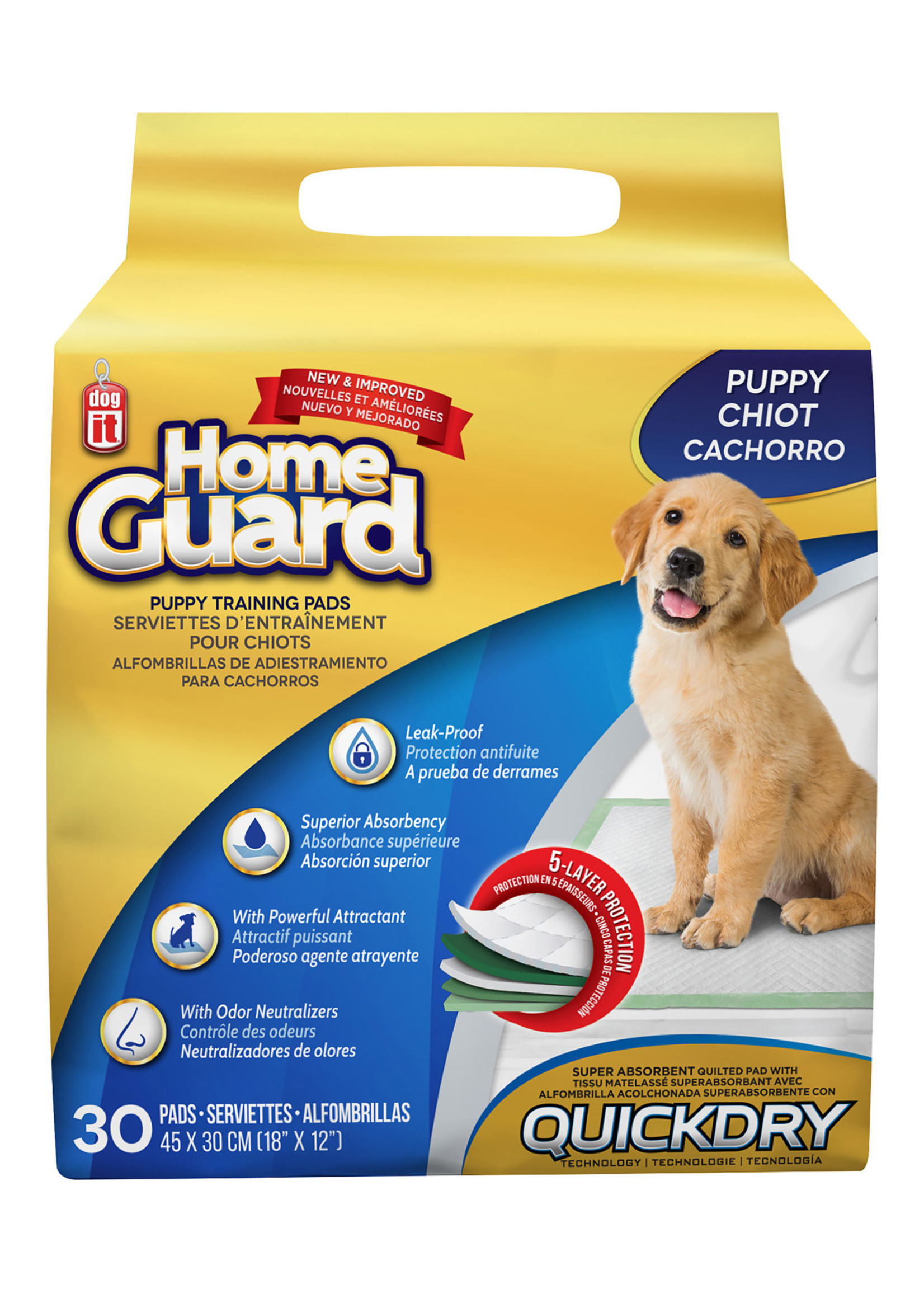 DogIt Home Guard Training Pads - Puppy - 30pk