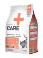 Nutrience Care Sensitive Skin & Stomach Cat Food 2.27kg (5lb)