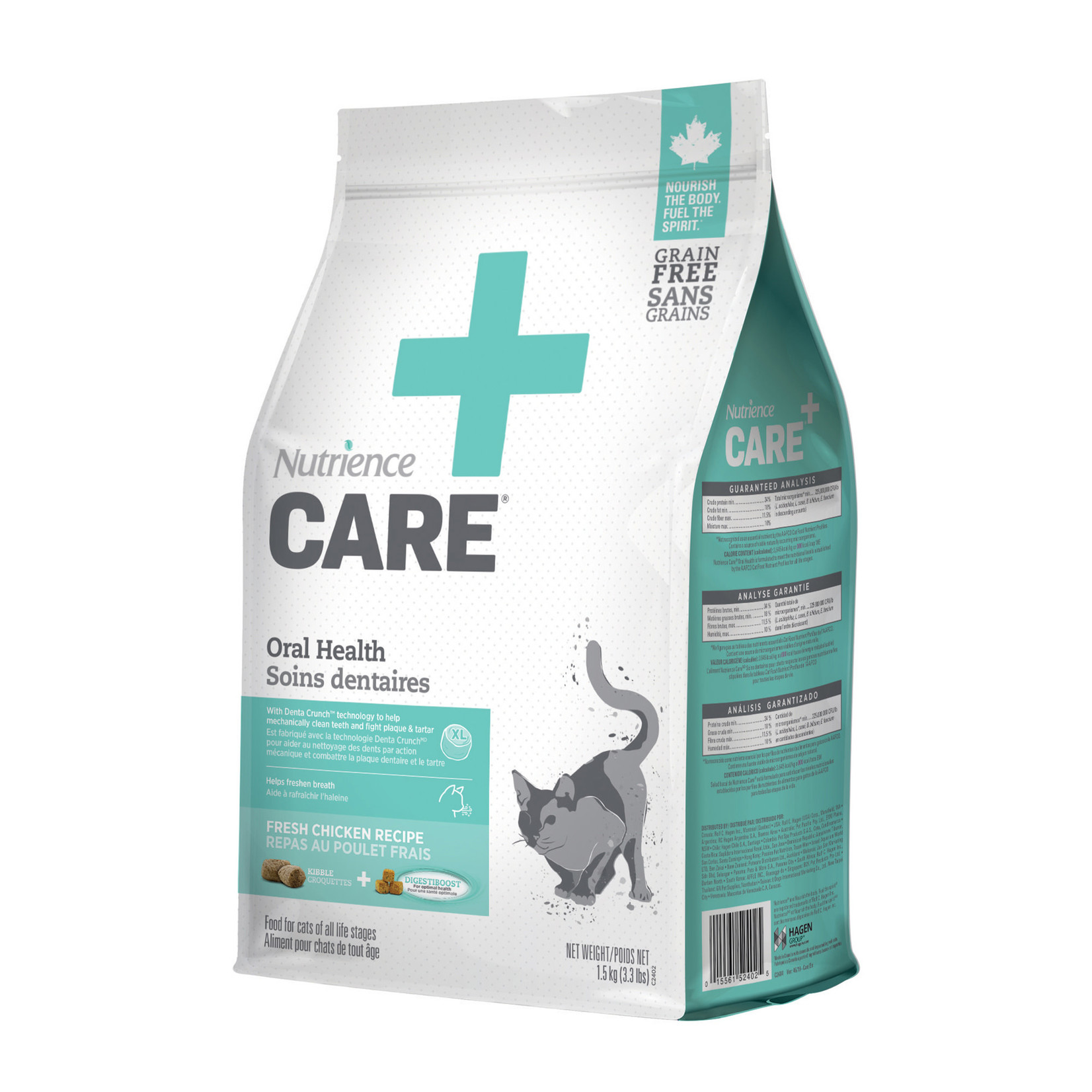 Nutrience Oral Care for Cats-Food-1.5kg (3lb)