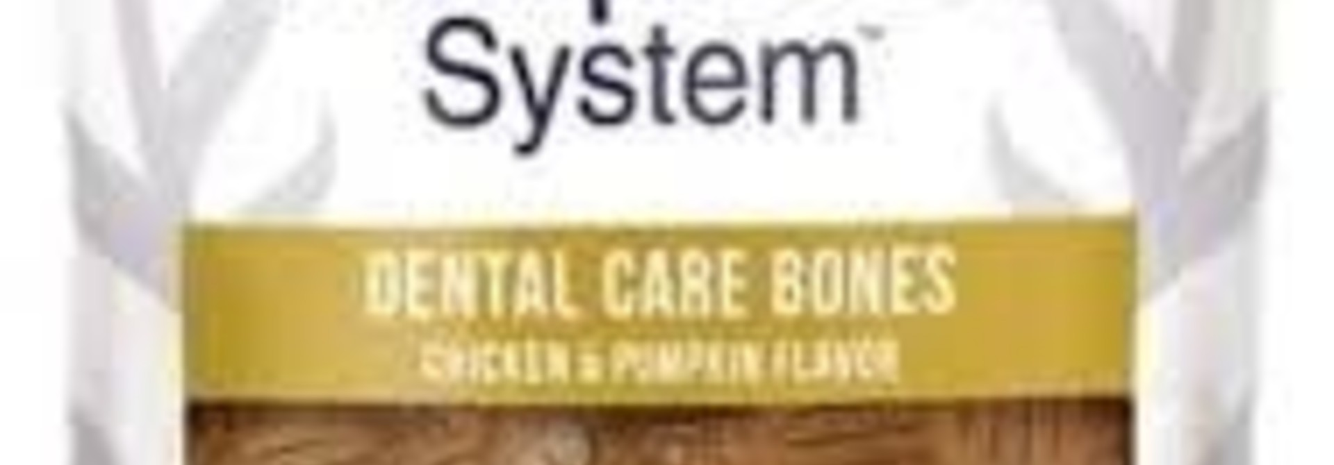 Dental Care Bones Chicken & Pumpkin