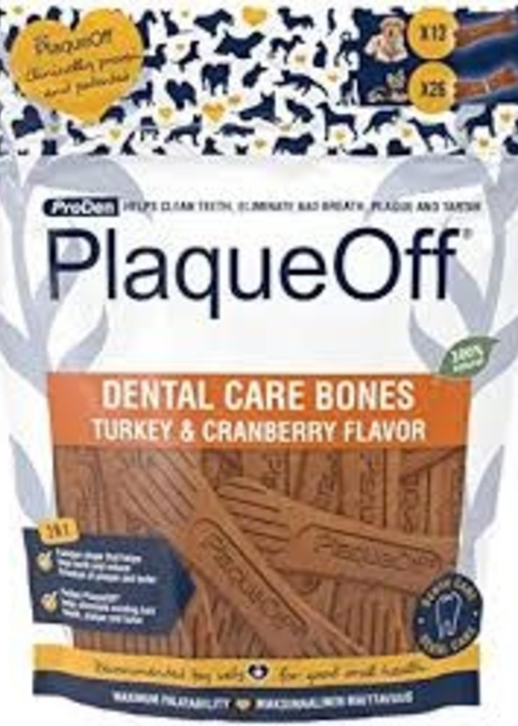 Plaque Off Dental Care Bones Turkey & Cranberry
