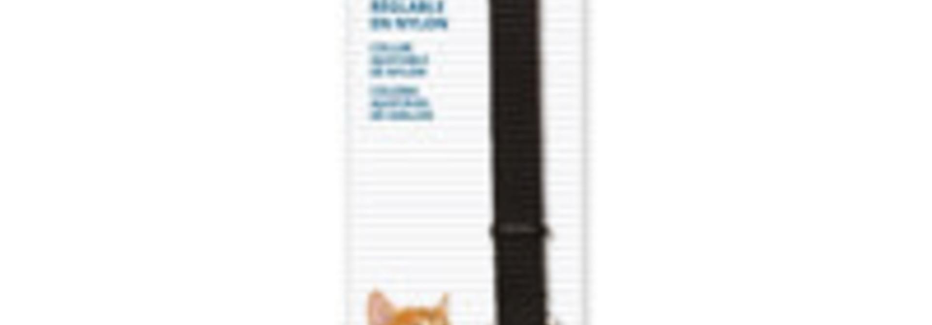 Breakaway Nylon Collar - Black - 20-33 cm
