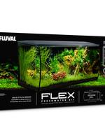 Fluval FLEX Aquarium Kit - Black - 123 L (32.5 US Gal) - Special Order