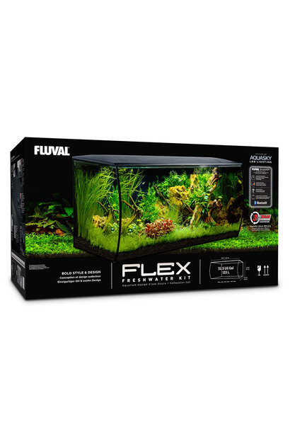FLEX Aquarium Kit - Black - 123 L (32.5 US Gal) - Special Order
