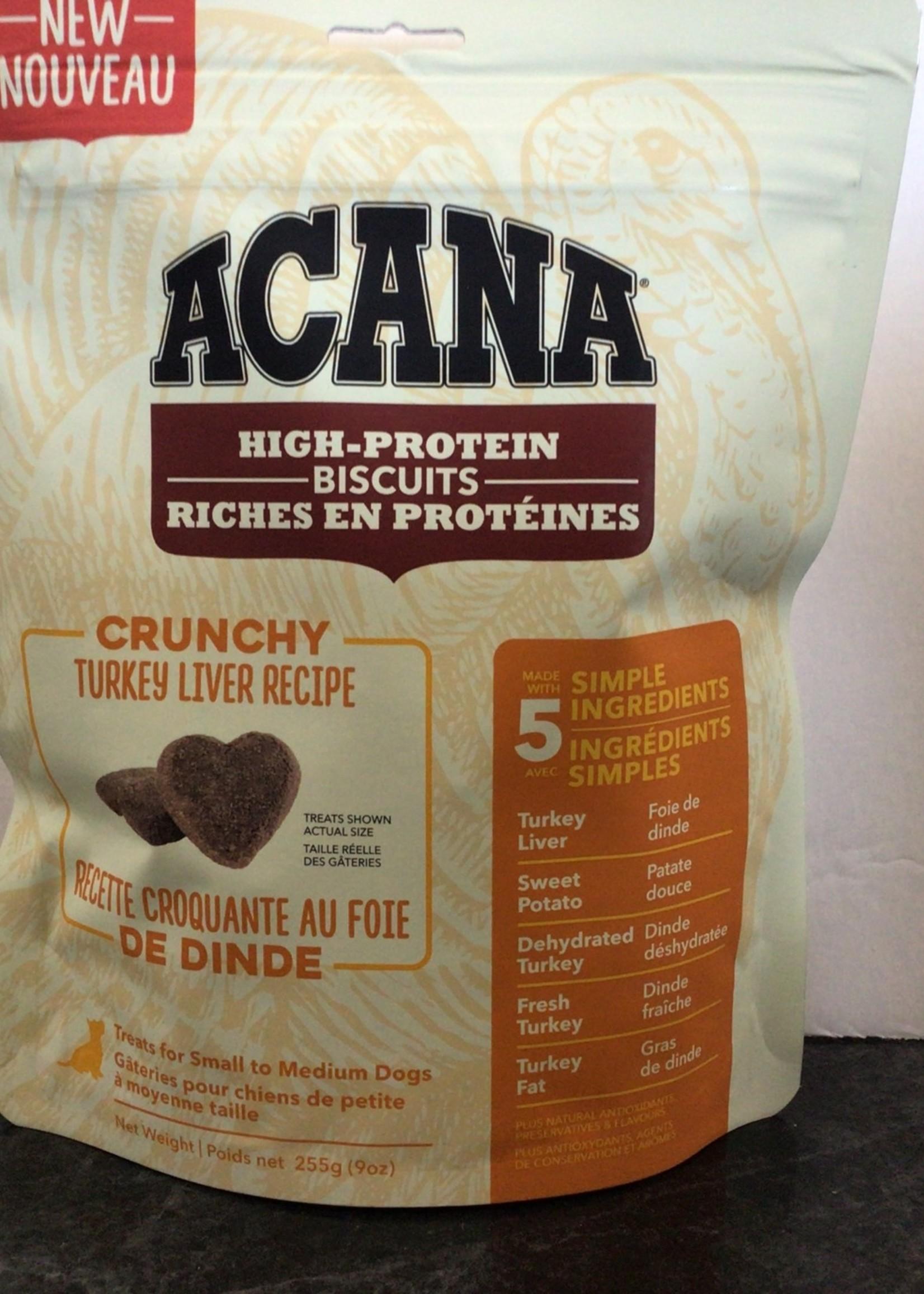 Acana Dog Crunchy Turkey Liver Treat-Small-255gm