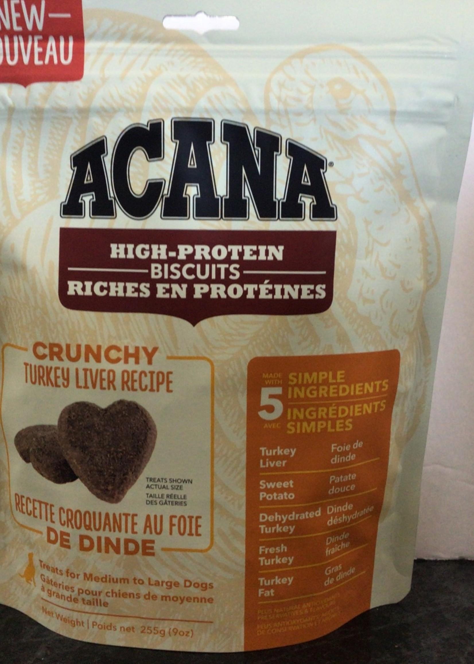 Acana Dog Crunchy Turkey Liver Treat-Medium/Large-255gm